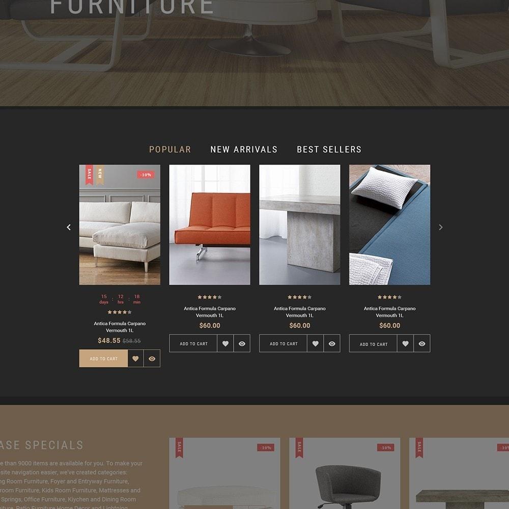 Sofarman - Адаптивный PrestaShop шаблон магазина мебели