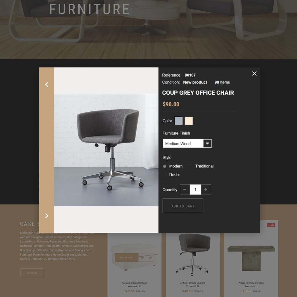 theme - Дом и сад - Sofarman - Адаптивный PrestaShop шаблон магазина мебели - 4