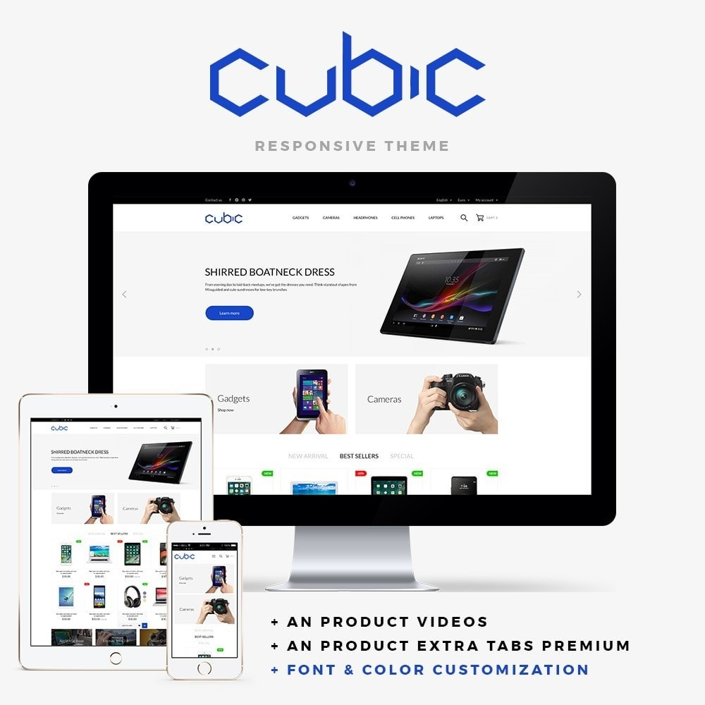 Cubic - High-tech Shop