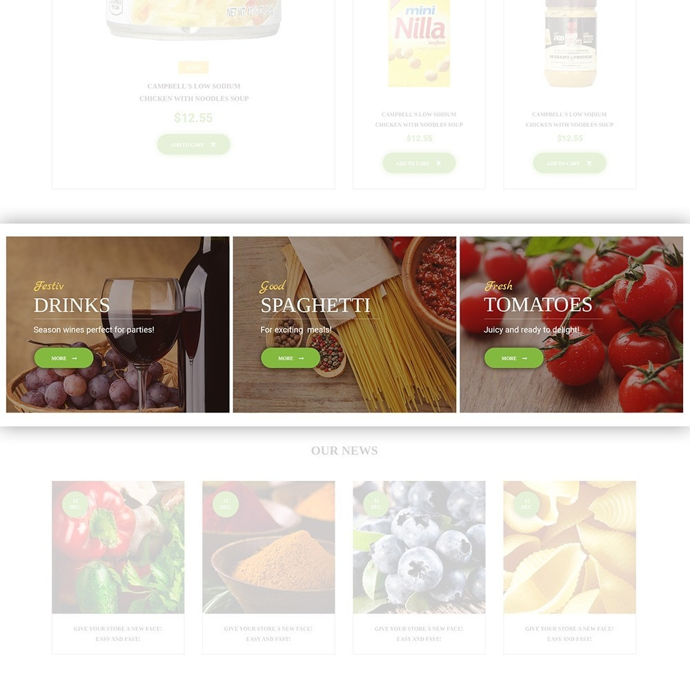 FoodFate - Magasin d'alimentation