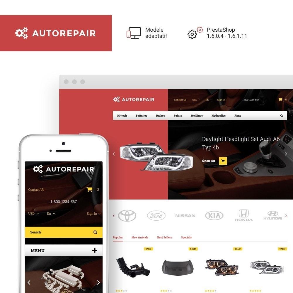 Autorepair - thème PrestaShop adaptatif