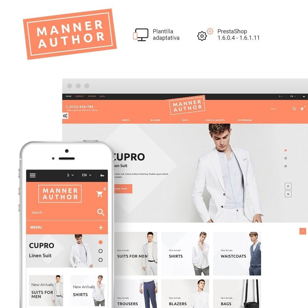 MannerAuthor - Sitio de Tienda de Ropa