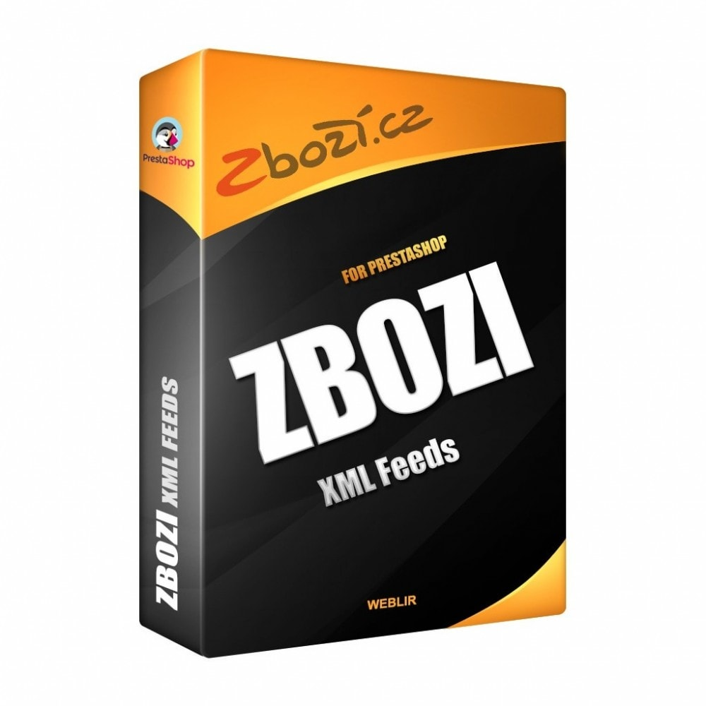 module - Comparadores de Precios - Zbozi Connector - XML Product feed - 1