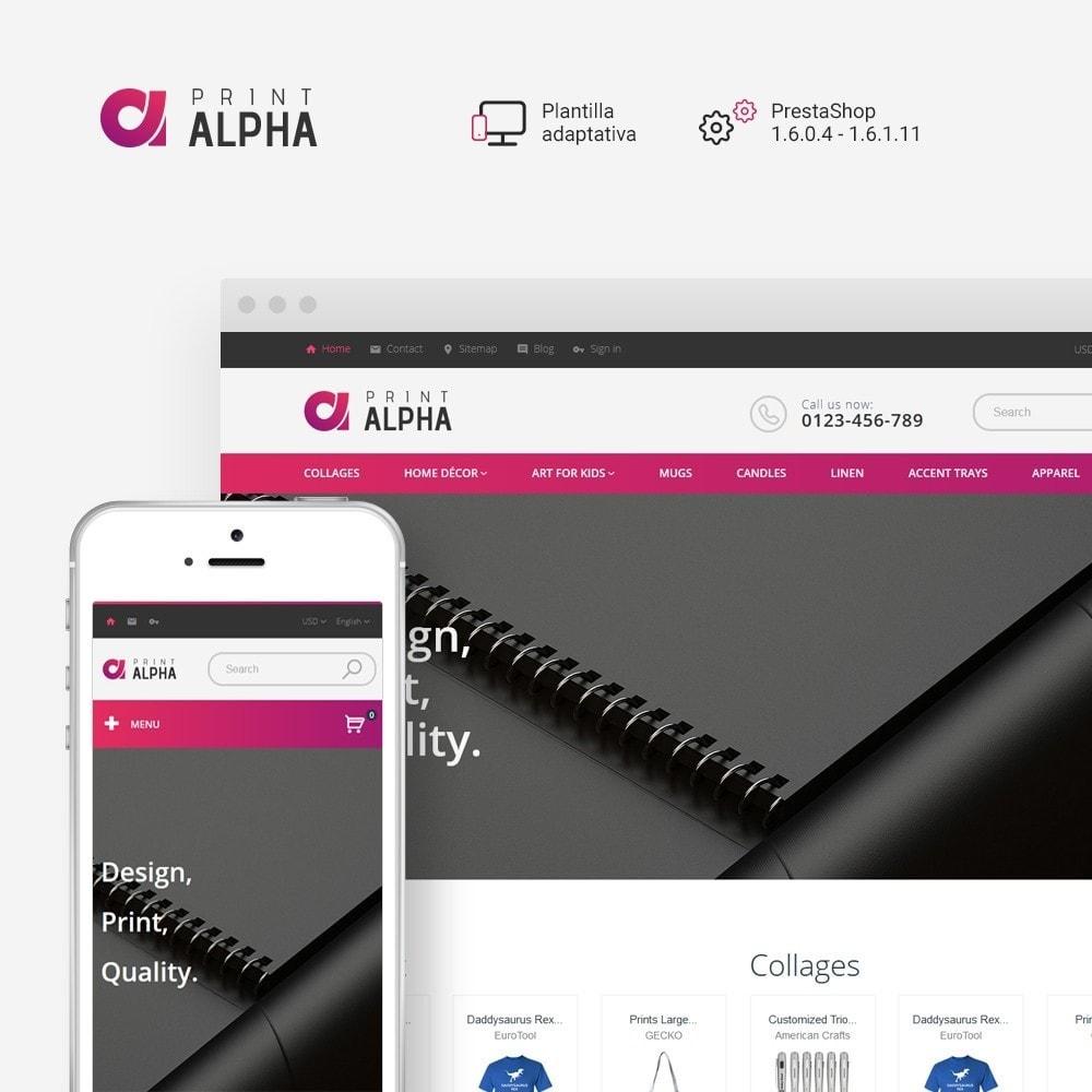 theme - Arte y Cultura - PrintAlpha - Sitio de Tienda de Impresión - 1