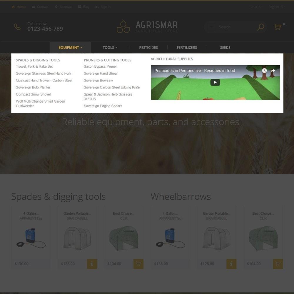theme - Дом и сад - Agrismar -шаблон для сельскохозяйственных компаний - 3