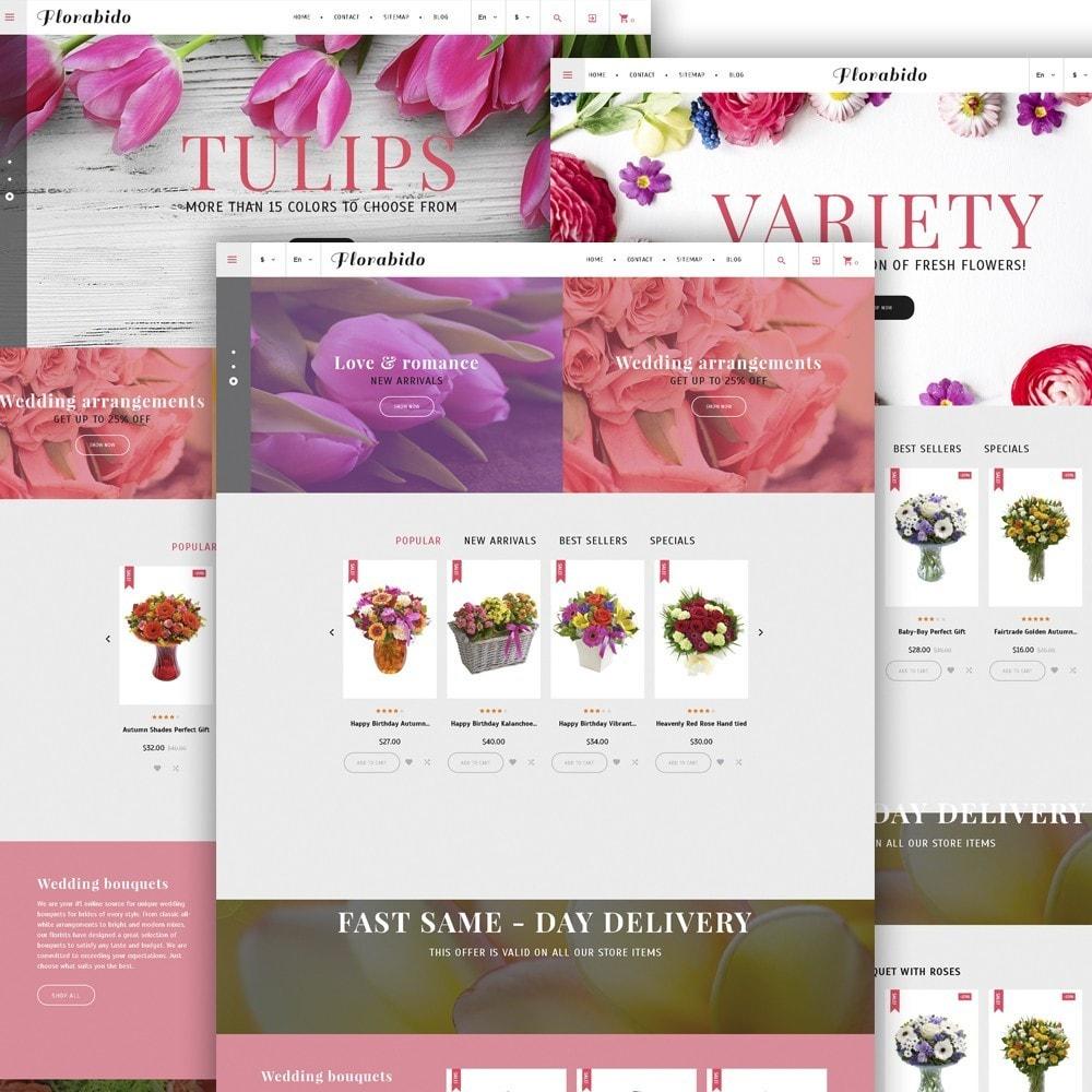 theme - Regalos, Flores y Celebraciones - Florabido - Sitio de Tienda de Flores - 3