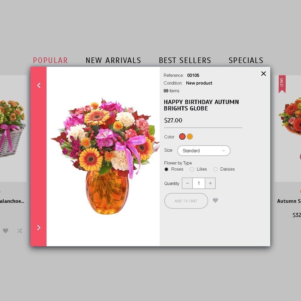 Florabido - шаблон цветочного магазина