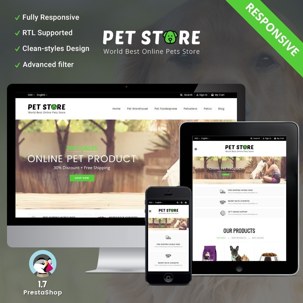 theme - Animals & Pets - Pet Store - 1
