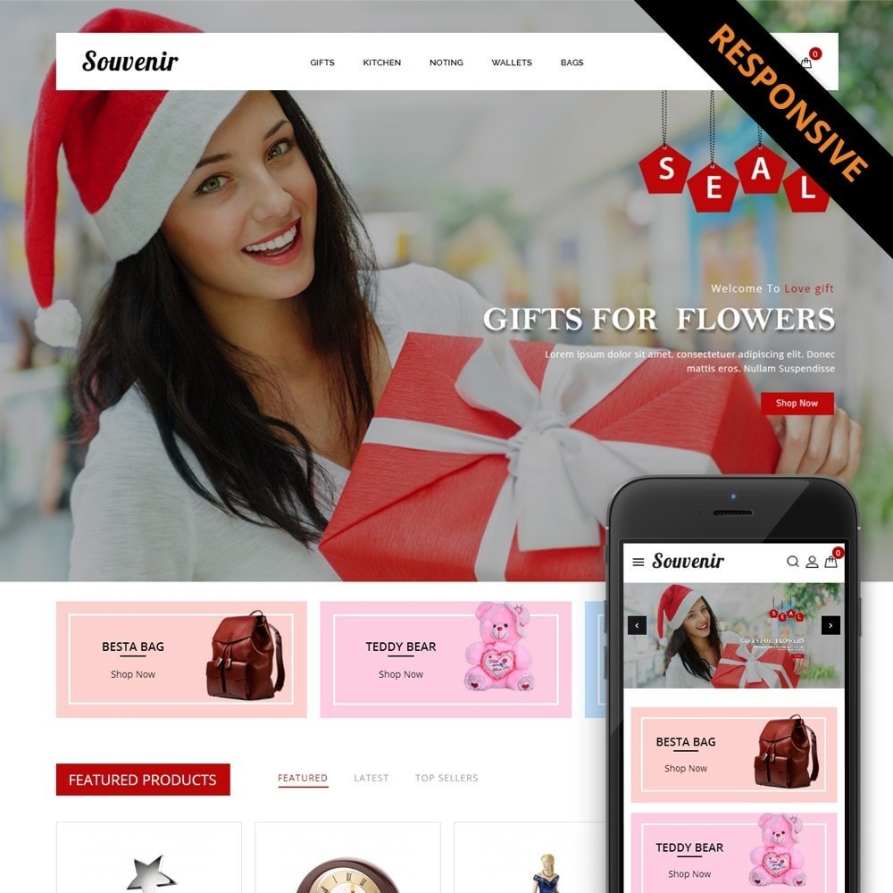 theme - Gifts, Flowers & Celebrations - Sovunier Store - 1