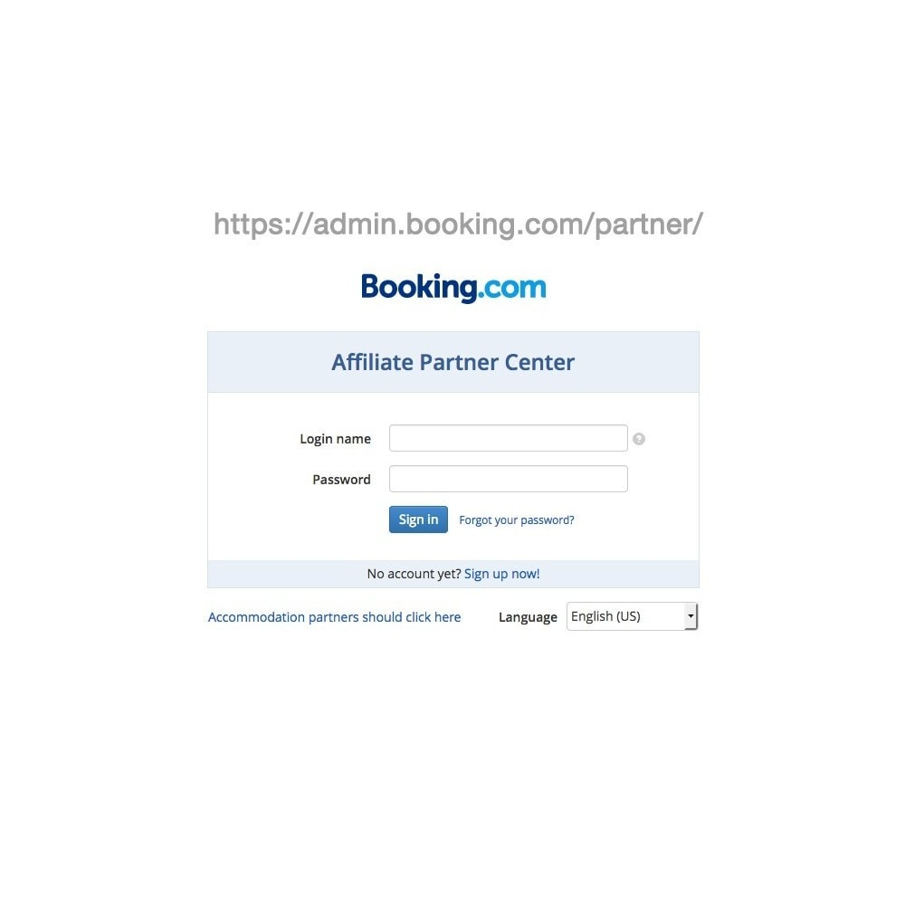module - Search & Filters - Search form of booking.com - 1