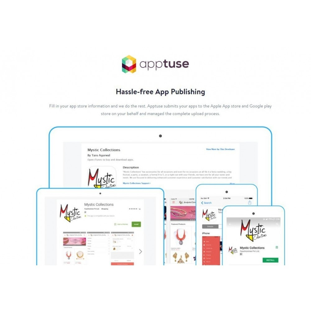 module - Dispositivi mobili - Apptuse - Mobile App Builder for Your Prestashop Store - 1