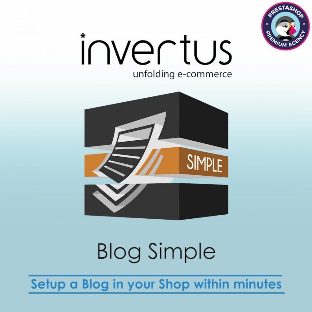 module - Блог, форумов и новостей - Blog Simple - 1