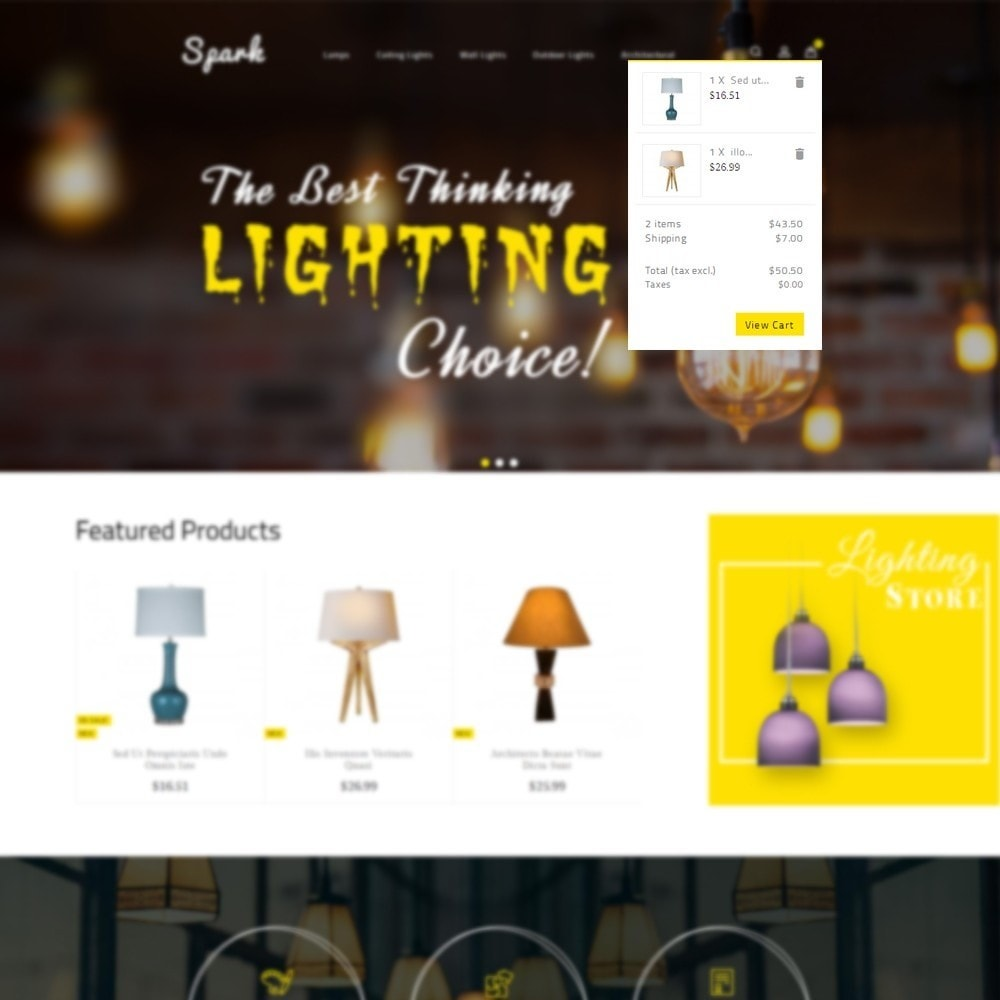 theme - Casa & Jardins - Spark Lighting Store - 6