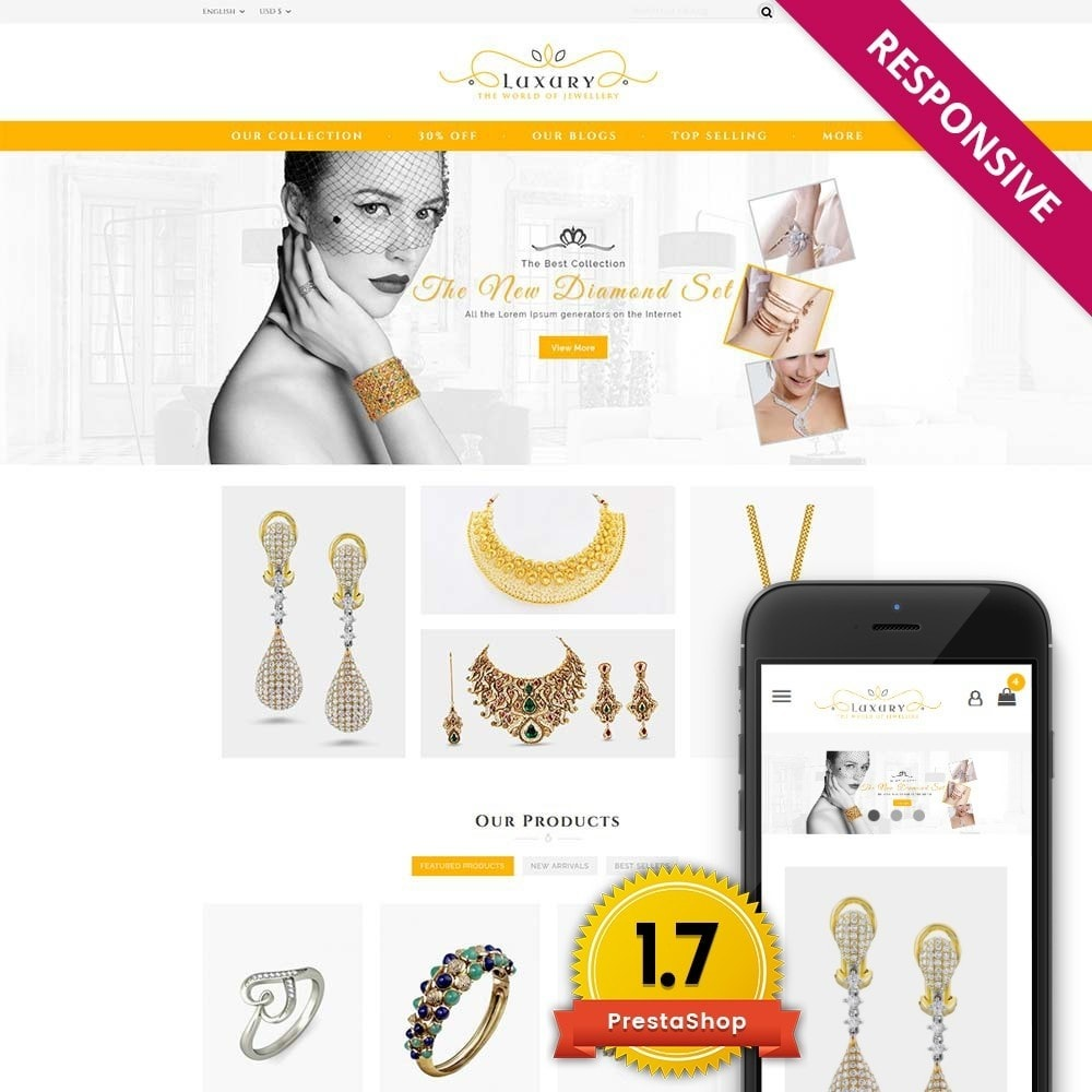 theme - Schmuck & Accesoires - Luxury Jewellery Store - 1