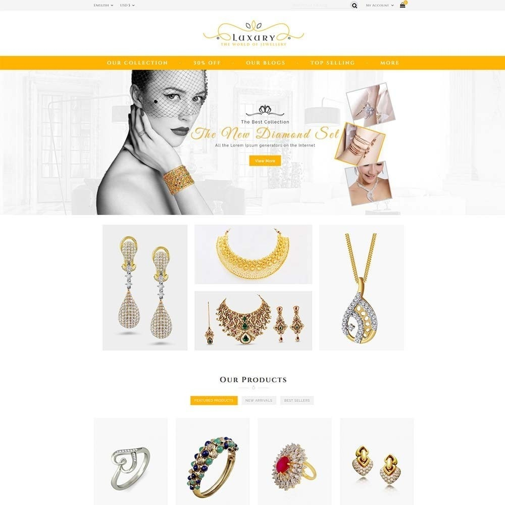 Luxury Jewellery Store
