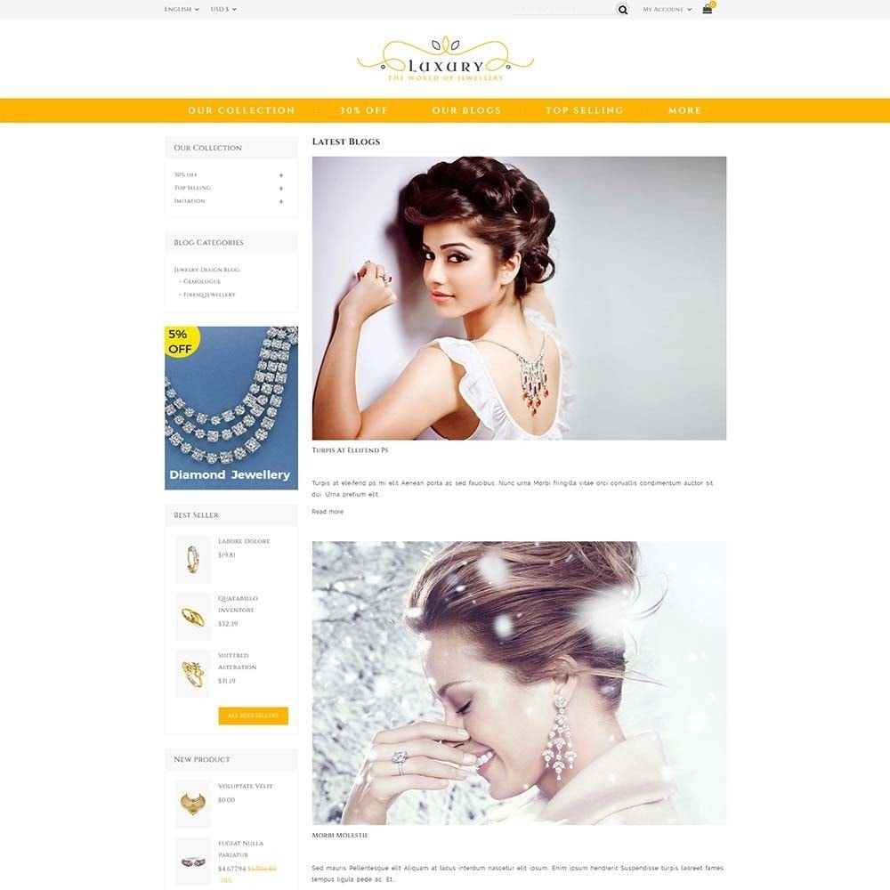 theme - Schmuck & Accesoires - Luxury Jewellery Store - 6