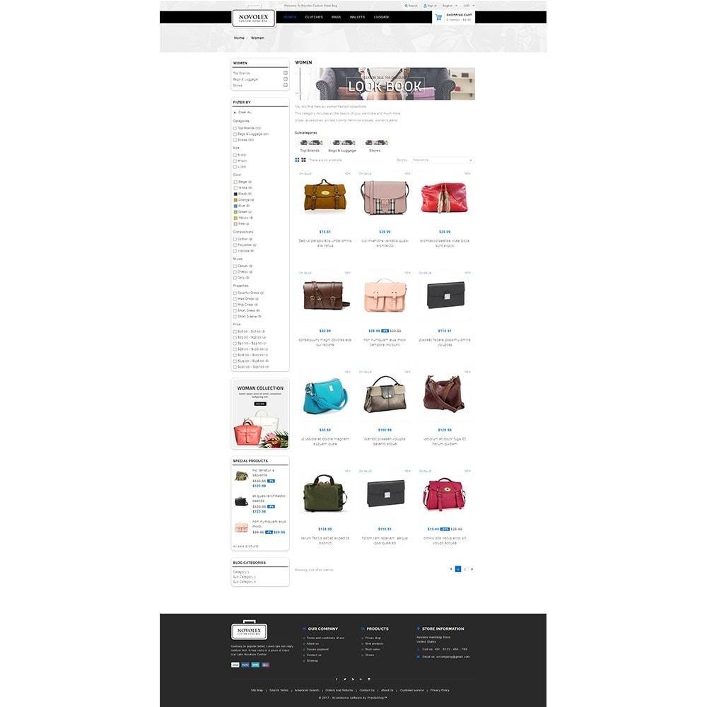 theme - Мода и обувь - Novolex Handbag Store - 3