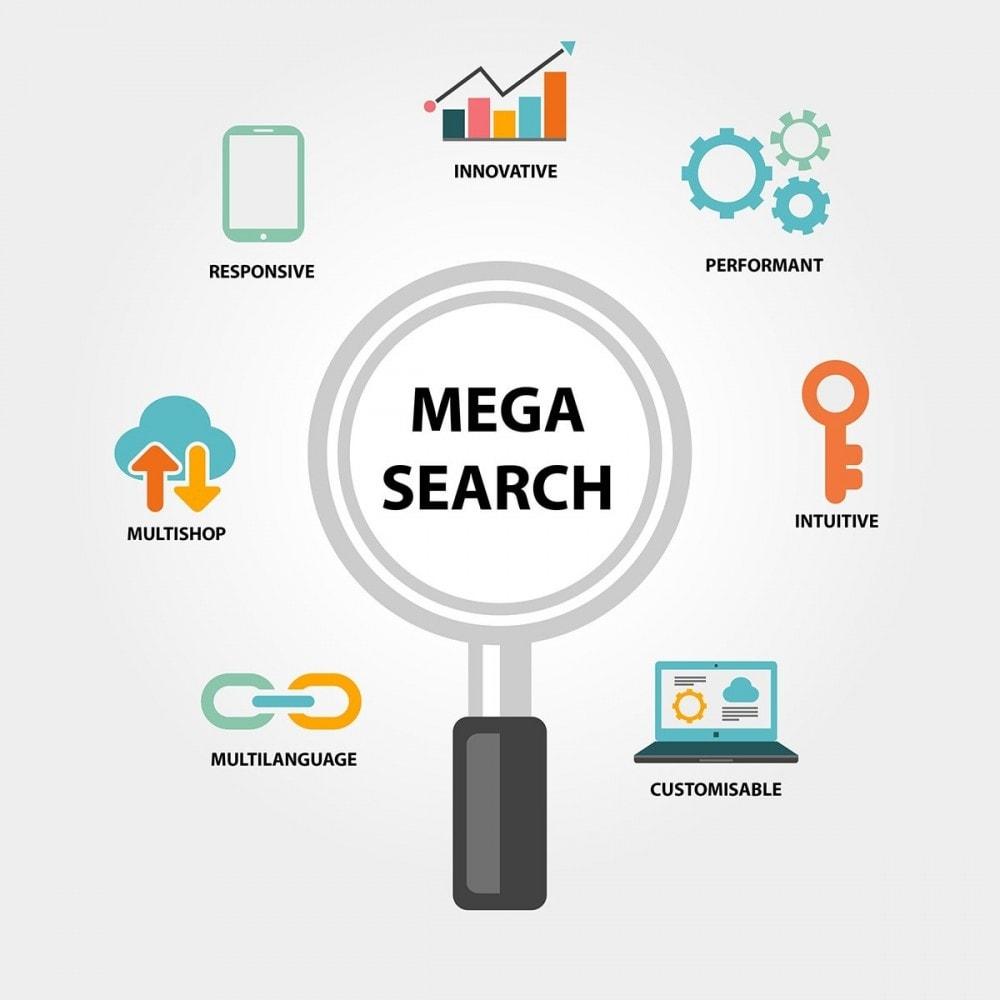 module - Wyszukiwanie & Filtry - Wyszukiwanie MEGA - wiele bloków wyszukiwania szablonów - 2