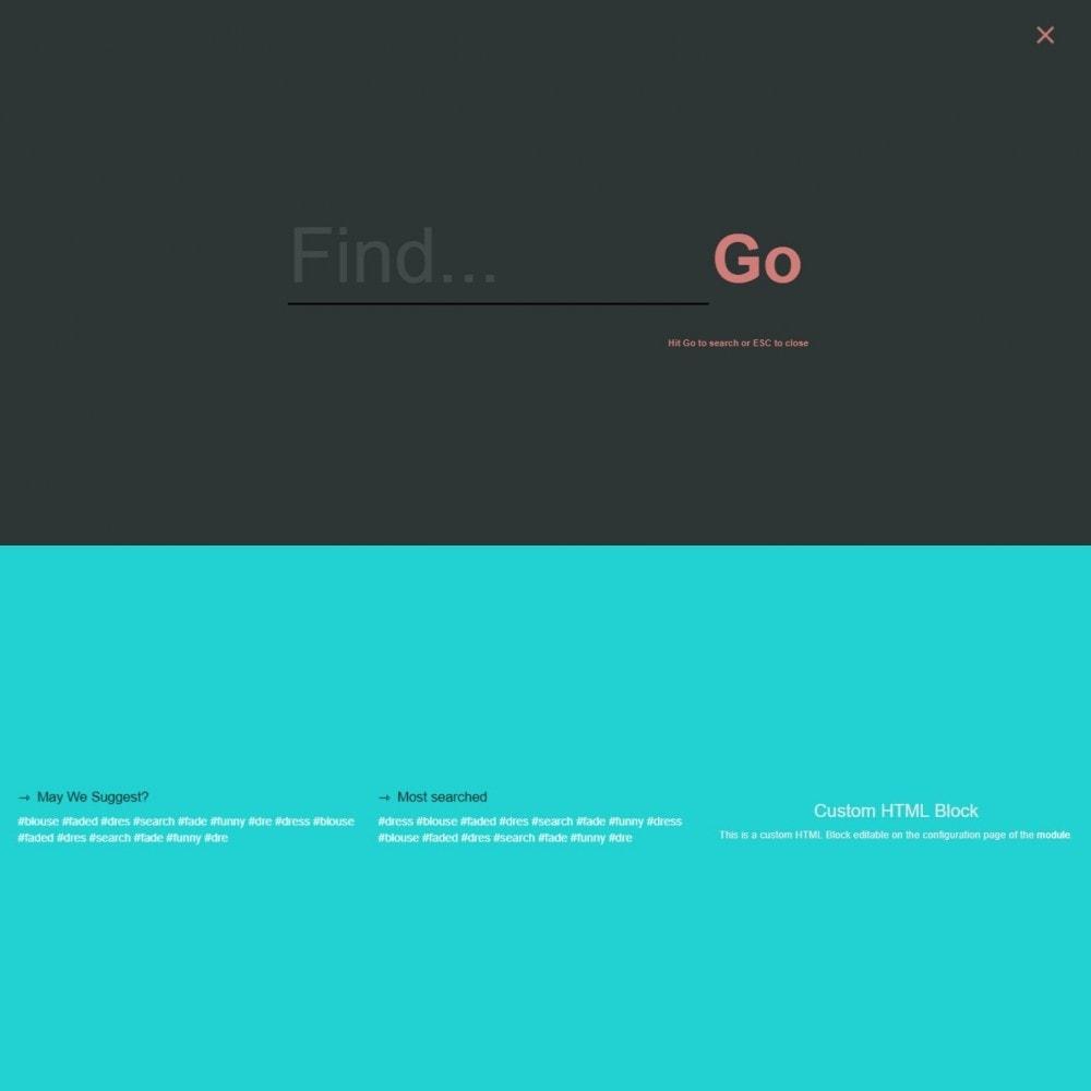 module - Поиск и фильтры - Поиск MEGA - Несколько блоков поиска шаблонов - 13