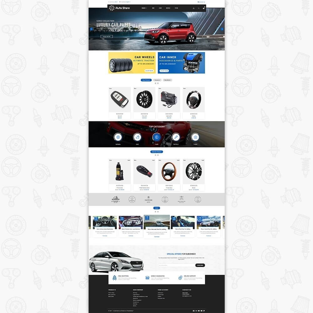 theme - Automotive & Cars - Auto Store Store - 2