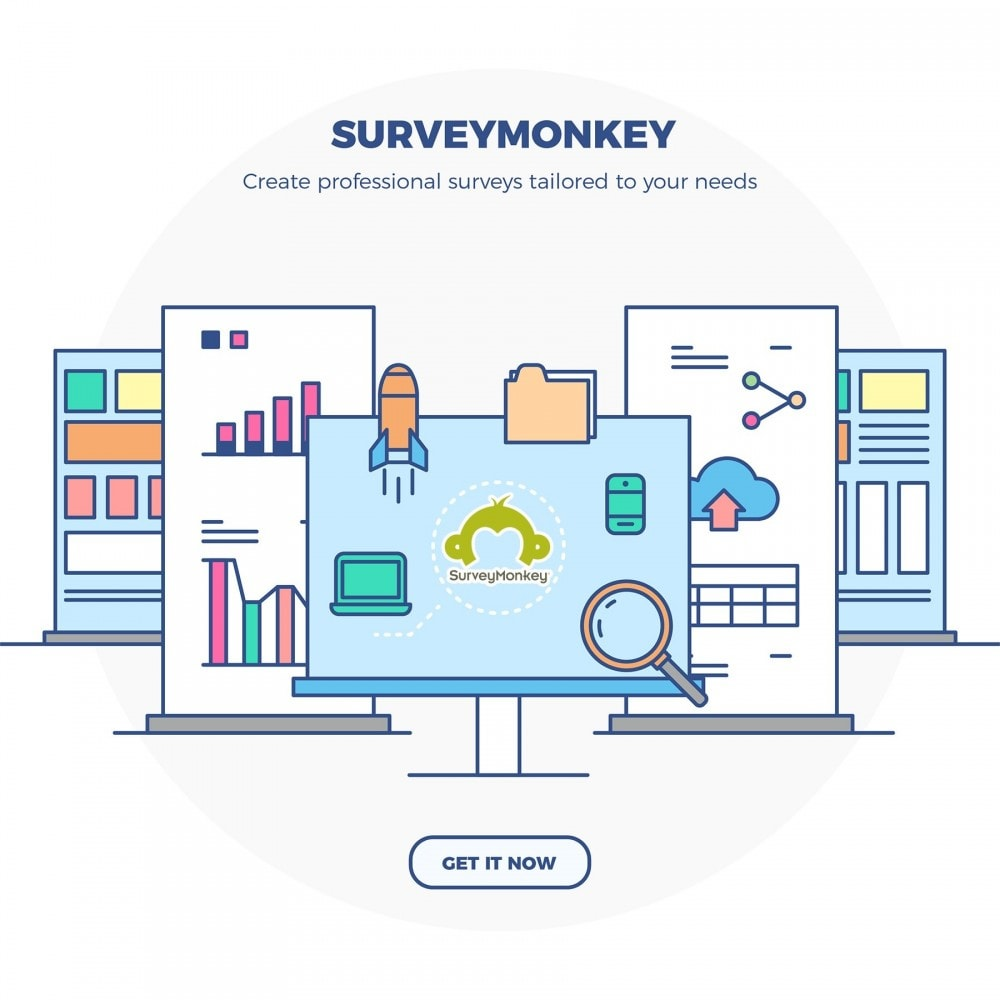 module - Contactformulier & Enquêtes - SurveyMonkey Integration - Professional surveys - 2