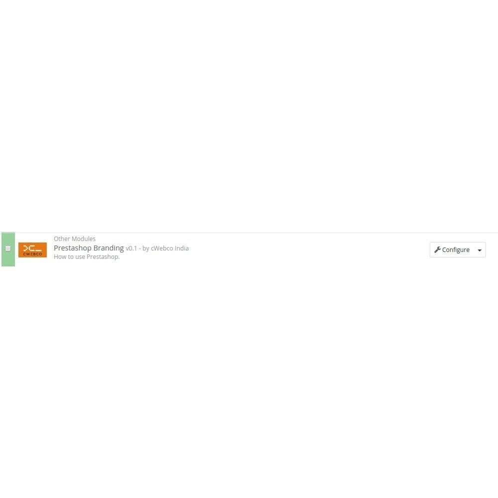 module - Бейджи и Логотипы - Branding - 2