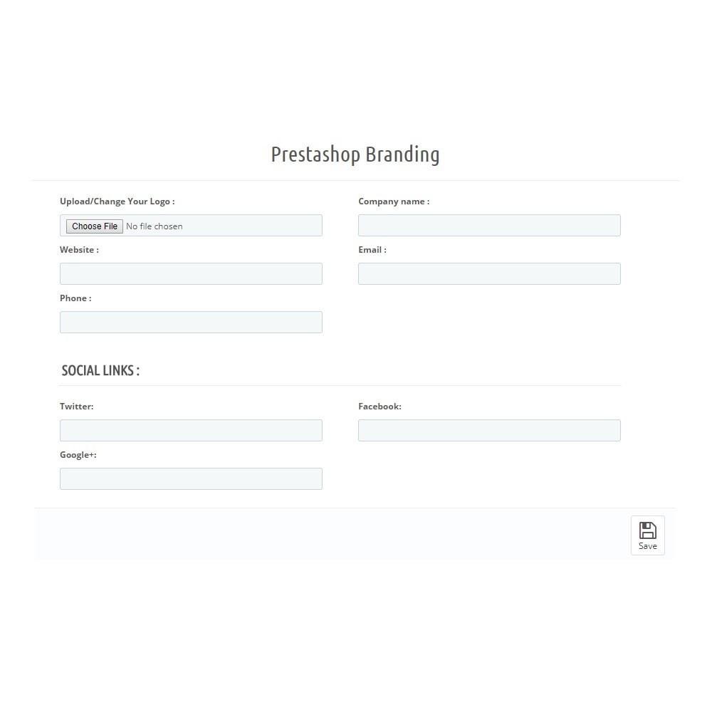 module - Бейджи и Логотипы - Branding - 3