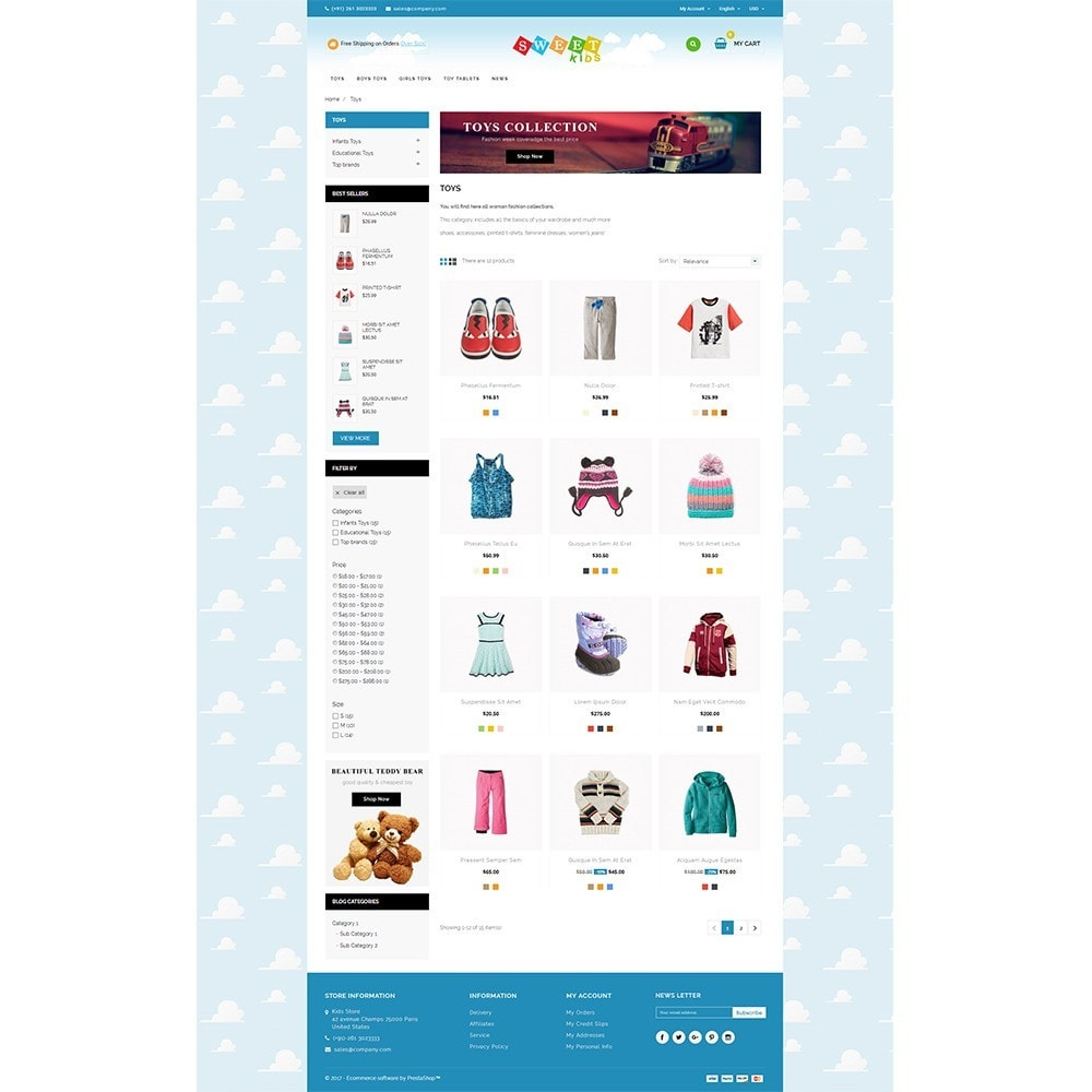 theme - Enfants & Jouets - Kids Store - 3