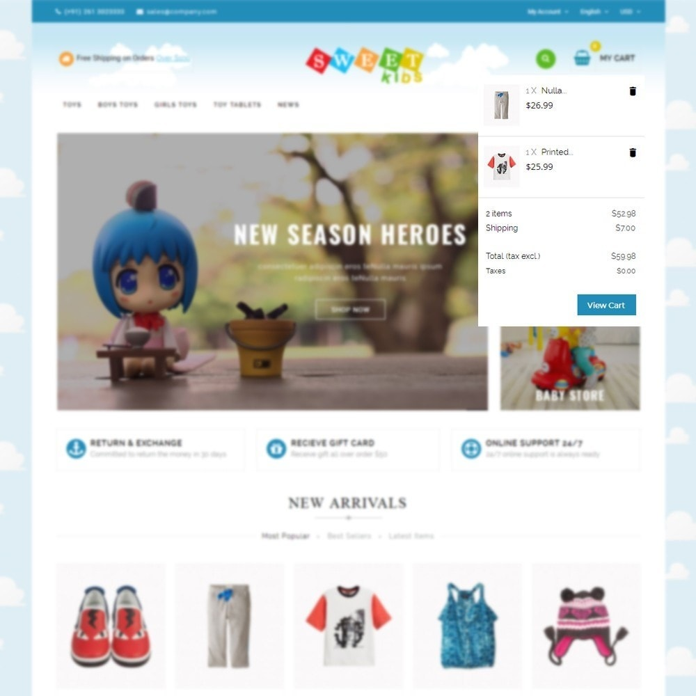 theme - Kinderen & Speelgoed - Kids Store - 6