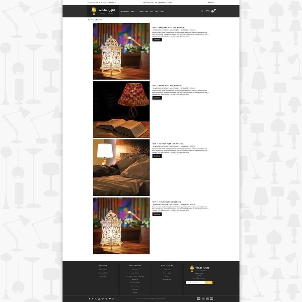 theme - Huis & Buitenleven - Tienda Light Store - 6