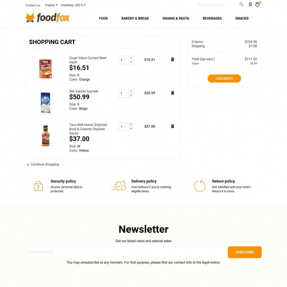 theme - Food & Restaurant - Foodfox - 9