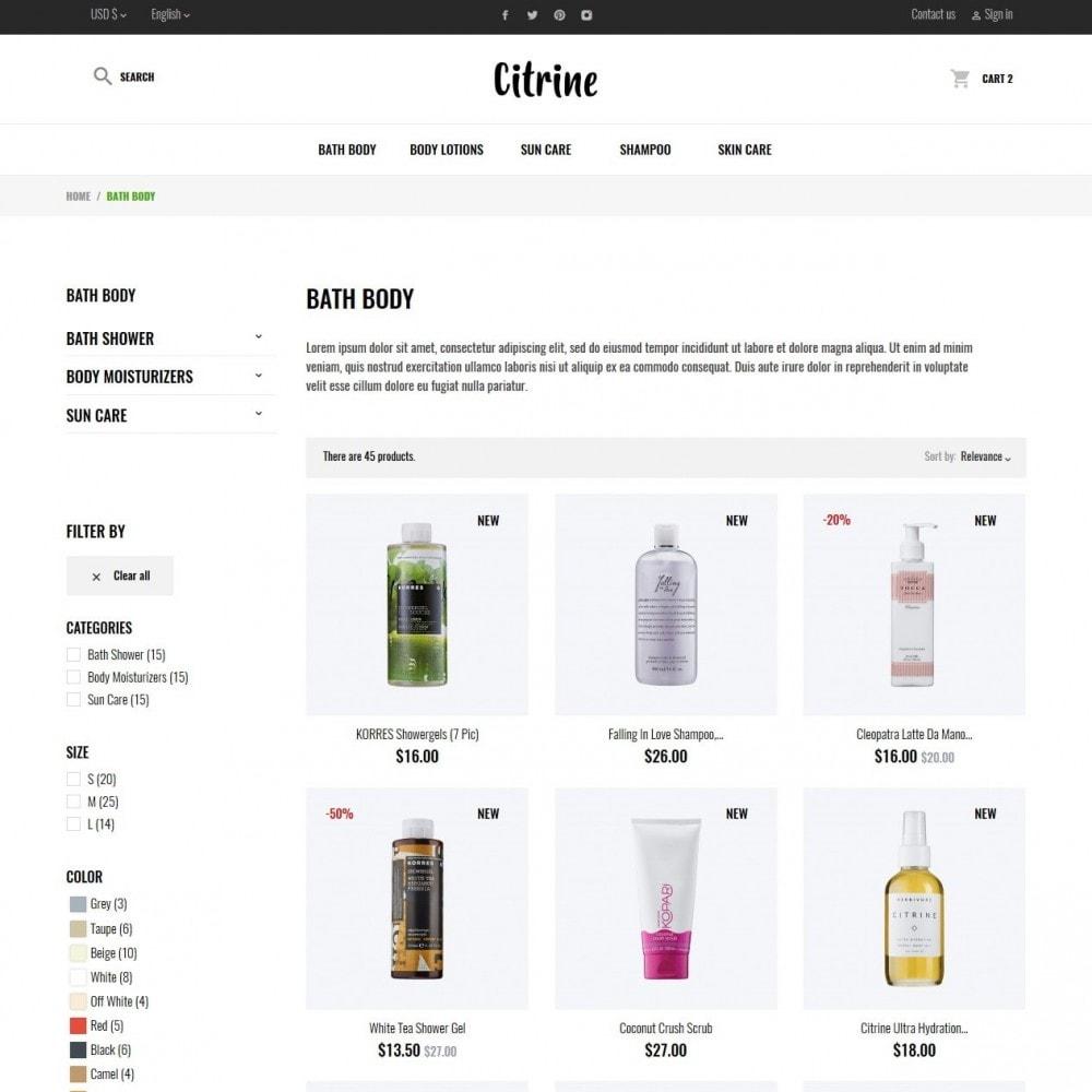theme - Zdrowie & Uroda - Citrine Cosmetics - 5