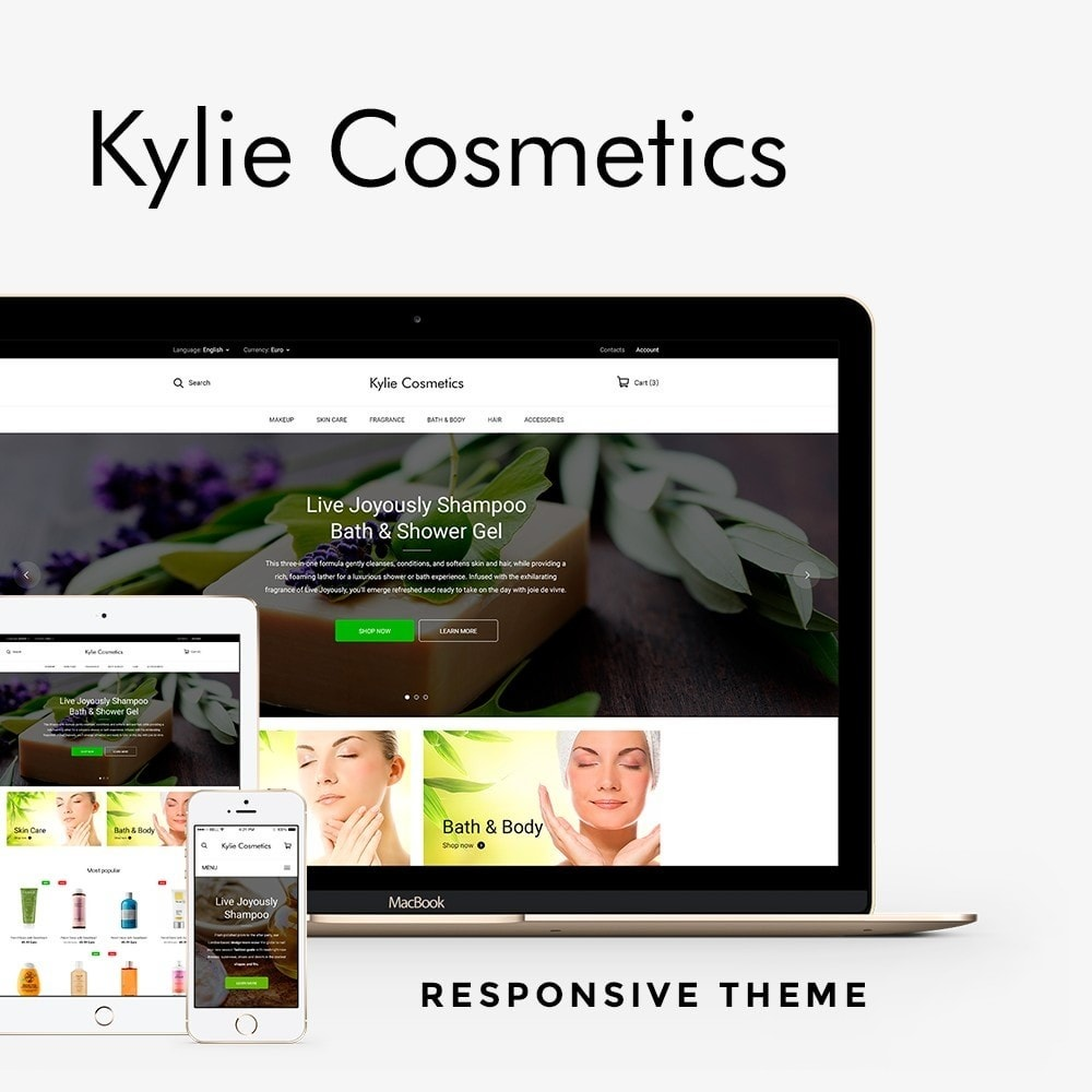 theme - Health & Beauty - Kylie Cosmetics - 1