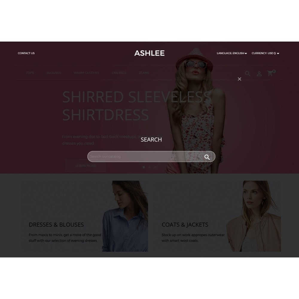 theme - Mode & Chaussures - Ashlee Fashion Store - 16
