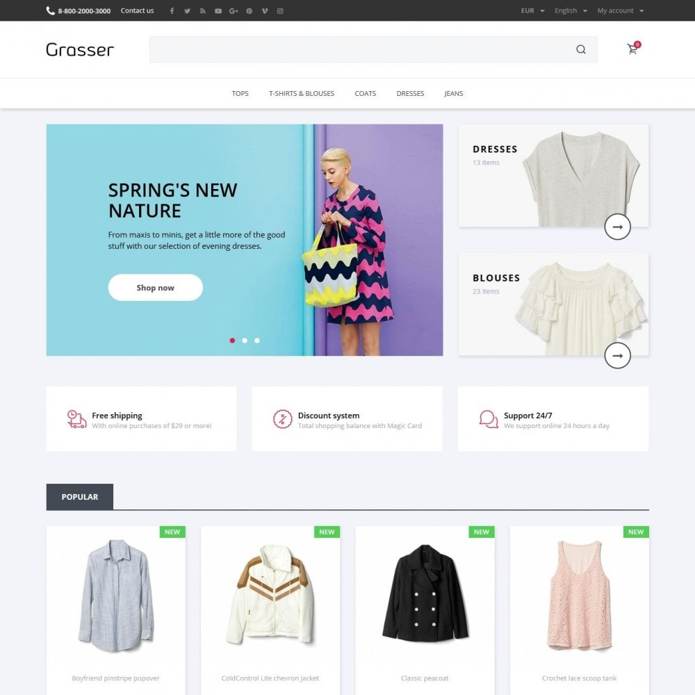theme - Mode & Chaussures - Grasser Fashion Store - 2