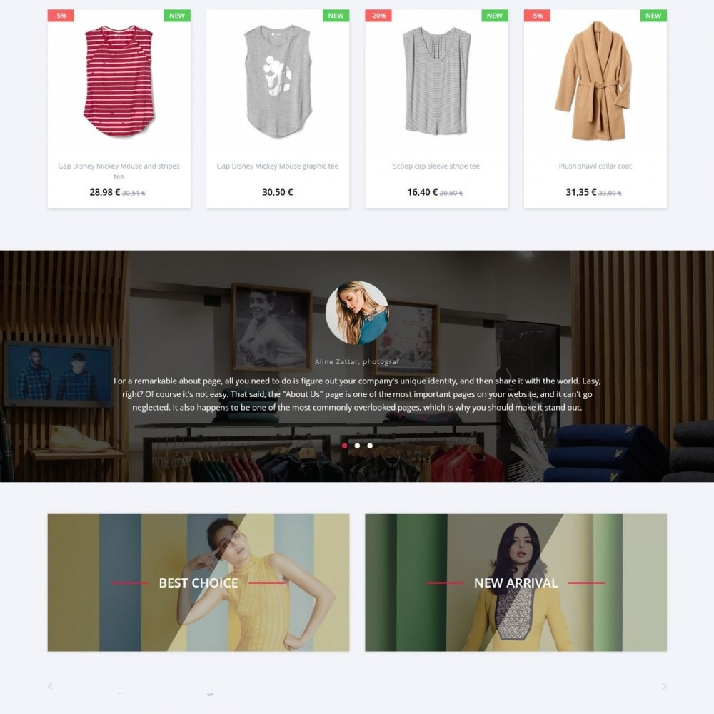 theme - Fashion & Shoes - Grasser Fashion Store - 3