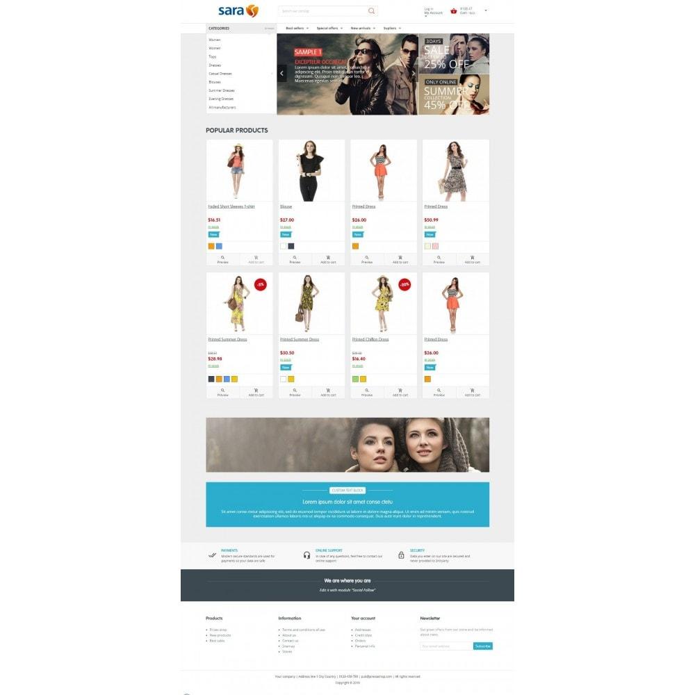 theme - Moda & Calzature - Sara Fashion - 2
