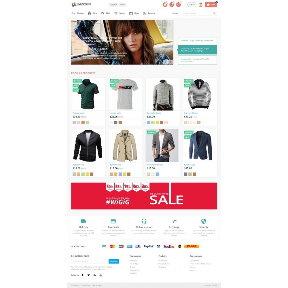 theme - Mode & Schoenen - Sandra Fashion Store - 2