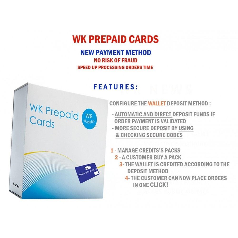 module - Prepago - WK Prepaid Cards - 1