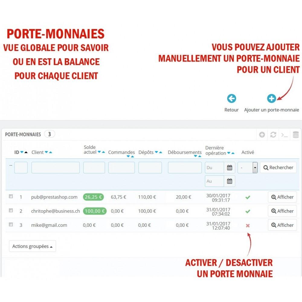 module - Prépaiement - Wk Cartes Prépayées - 10
