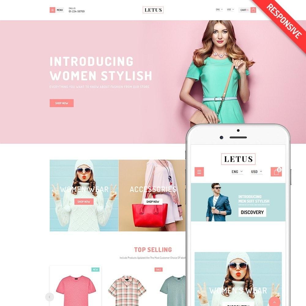 theme - Fashion & Shoes - JMS Letus - 1