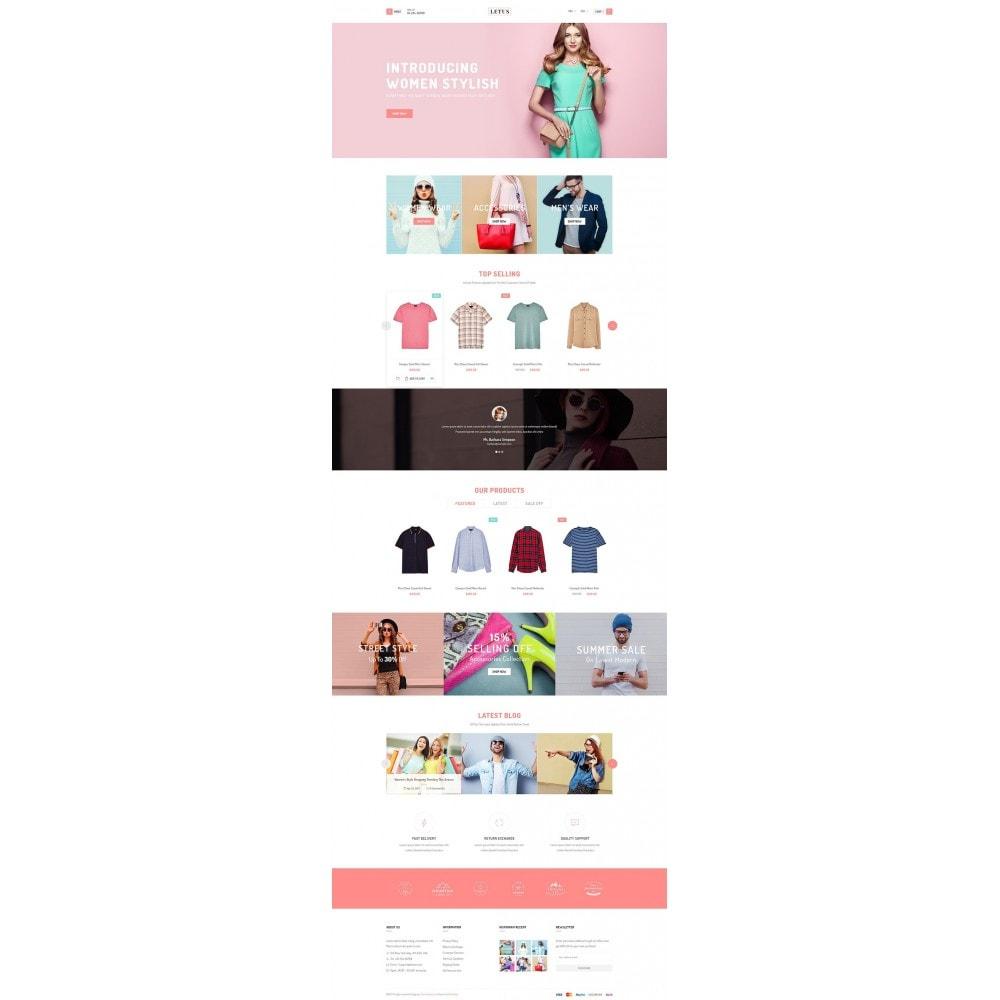 theme - Fashion & Shoes - JMS Letus - 6