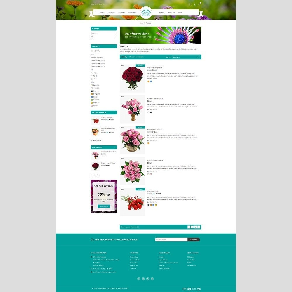 theme - Heim & Garten - Blossom Flower - 4