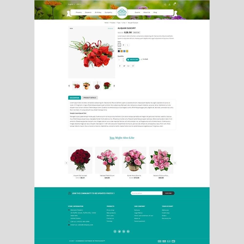 theme - Cadeaux, Fleurs et Fêtes - Blossom Flower - 5