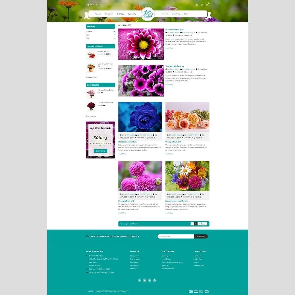 theme - Prezenty, Kwiaty & Uroczystości - Blossom Flower - 6