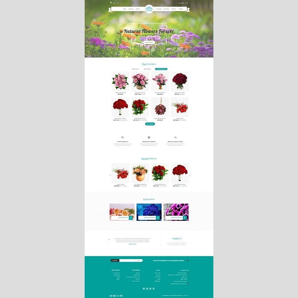 theme - Prezenty, Kwiaty & Uroczystości - Blossom Flower - 8