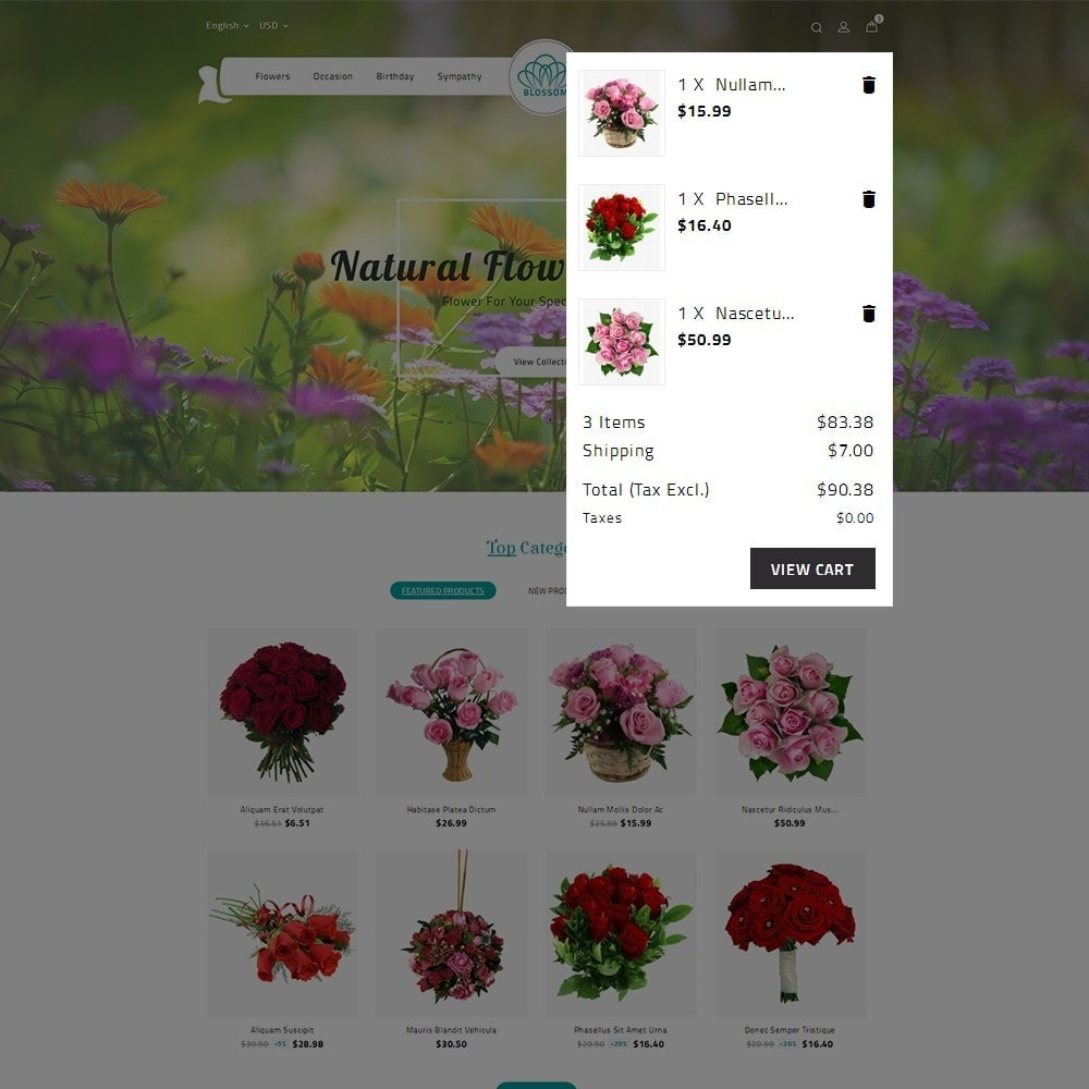 theme - Heim & Garten - Blossom Flower - 9
