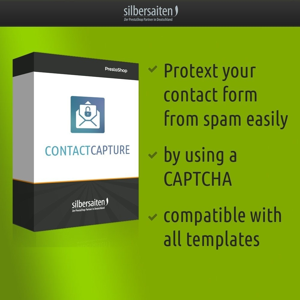 module - Seguridad y Accesos - Contact Capture - protect your contact form from span - 1