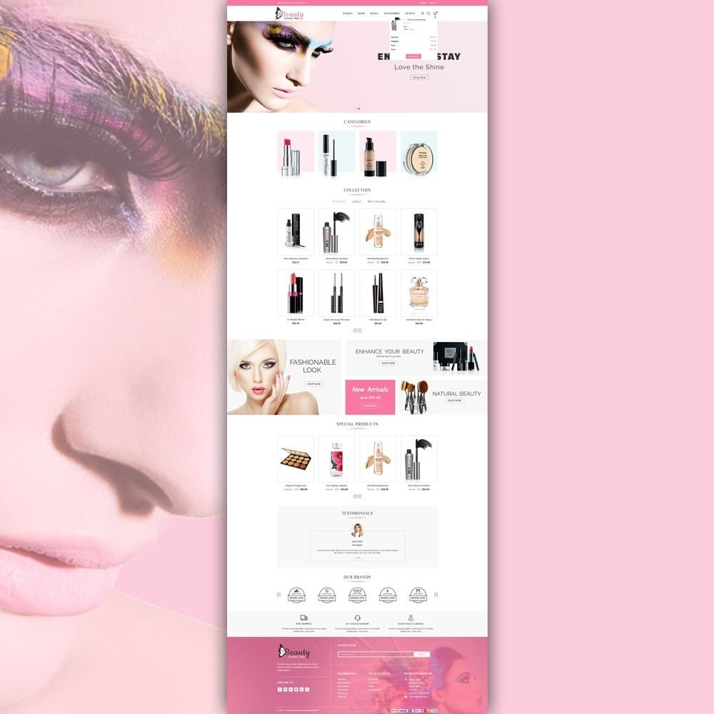 theme - Salud y Belleza - Beauty Cosmetic Shop - 5