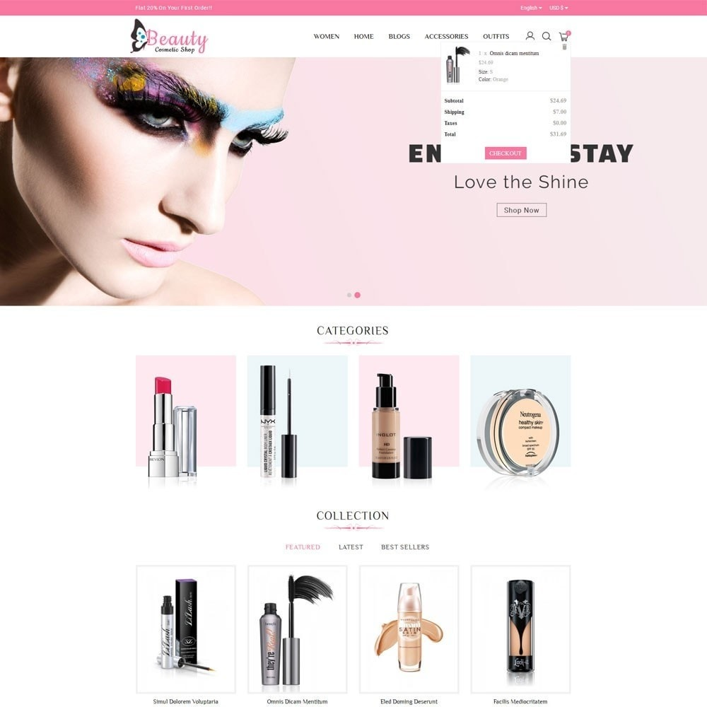 theme - Salute & Bellezza - Beauty Cosmetic Shop - 2